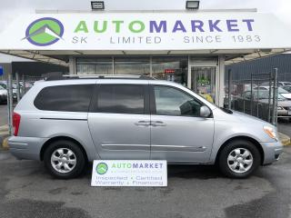 Used 2007 Hyundai Entourage Limited YOU WORK/YOU DRIVE! for sale in Langley, BC
