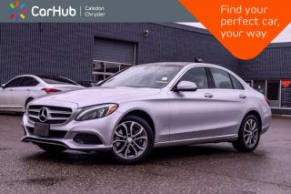 Used 2015 Mercedes-Benz C-Class C 300|4Matic|Navi|Pano Sunroof|Backup Cam|Bluetooth|Blind Spot|Heated Front Seats|17