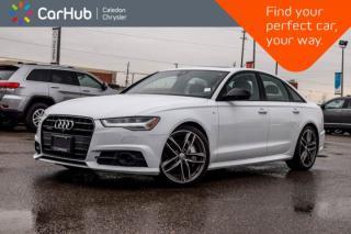 Used 2017 Audi A6 2.0T Technik|Quattro|Navi|Sunroof|360 Backup Cam|Bluetooth|Leather|19