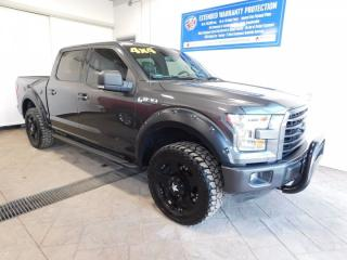 Used 2016 Ford F-150 SPORT CREW LEATHER NAVI for sale in Listowel, ON