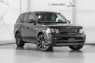 Used 2013 Land Rover Range Rover Sport V8 Supercharged (SC) for sale in Langley, BC