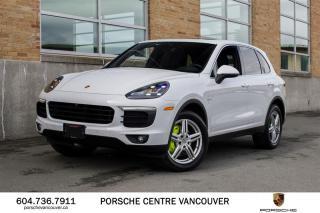 Used 2016 Porsche Cayenne S e-Hybrid | PORSCHE CERTIFIED for sale in Vancouver, BC
