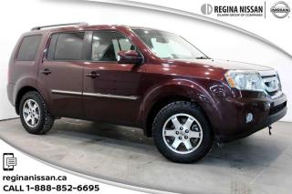 Used 2011 Honda Pilot Touring 4WD 5AT Nav-Leather!!! for sale in Regina, SK