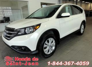 Used 2014 Honda CR-V Traction intégrale  EX-L Cuir Toit Camer for sale in St-Jean-Sur-Richelieu, QC