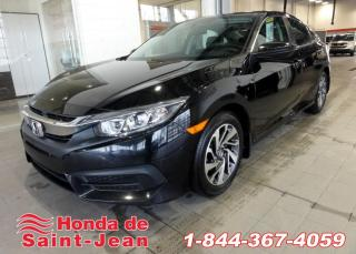 Used 2016 Honda Civic EX CVT Toit Camera Mags for sale in St-Jean-Sur-Richelieu, QC
