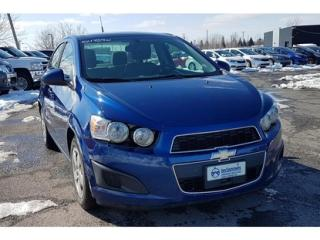 Used 2014 Chevrolet Sonic LS for sale in Saint-hubert, QC