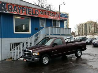 Used 2004 Dodge Ram 1500 ST Regular Cab Long Box **Air/4.7L V8/Only 92k!!** for sale in Barrie, ON