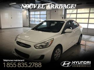 Used 2015 Hyundai Accent LE + GARANTIE + MAGS + A/C + WOW !! for sale in Drummondville, QC