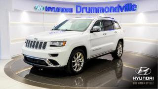 Used 2014 Jeep Grand Cherokee SUMMIT + ECODIESEL + GARANTIE + NAVI + T for sale in Drummondville, QC