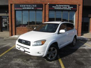 Used 2008 Toyota RAV4 Sport / $10,995+HST+LIC FEES / FULLY CERTIFIED for sale in North York, ON