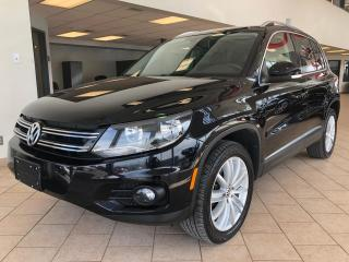 Used 2014 Volkswagen Tiguan Highline 4motion GPS Toit Pano Cuir for sale in Pointe-Aux-Trembles, QC