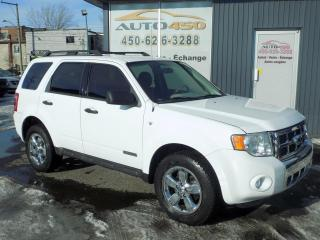 Used 2008 Ford Escape ***LIMITED,NAVIGATION,4X4,CUIR,*** for sale in Longueuil, QC