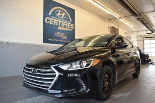 Used 2017 Hyundai Elantra GL Automatique for sale in St-Eustache, QC
