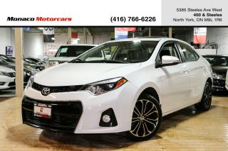 Used 2016 Toyota Corolla S - REMOTESTART|BACKUP|SUNROOF|HEATEDSEATS for sale in North York, ON