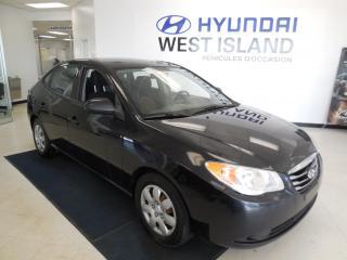 Used 2010 Hyundai Elantra L, 2.0L, AUTO, TRACTION AVANT for sale in Dorval, QC