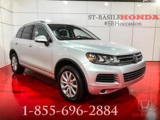 Used 2014 Volkswagen Touareg HIGHLINE + V6 AWD + NAV !!! for sale in St-Basile-le-Grand, QC