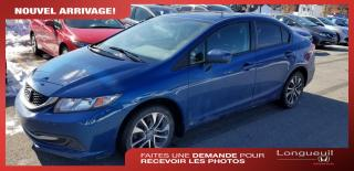 Used 2015 Honda Civic EX for sale in Longueuil, QC
