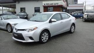 Used 2015 Toyota Corolla Le, A/c/cruise for sale in Sherbrooke, QC