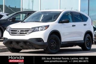 Used 2014 Honda CR-V Lx Fwd Bluetooth Fwd for sale in Lachine, QC