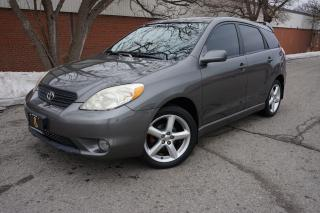 Used 2008 Toyota Matrix TRD - 1 OWNER / NO ACCIDENTS / DEALER MAINTAINED for sale in Etobicoke, ON