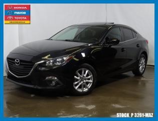 Used 2015 Mazda MAZDA3 Gs|cam|toitouv|sièg for sale in Drummondville, QC