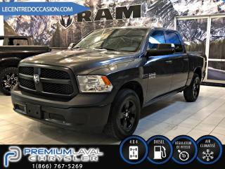 Used 2016 RAM 1500 Tradesman 4X4*CREW CAB/DIESEL* for sale in Laval, QC