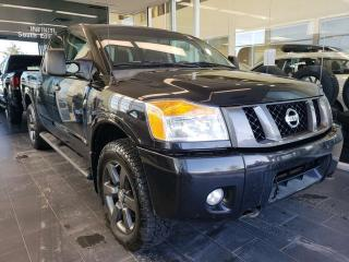 Used 2012 Nissan Titan S, ACCIDENT FREE, ONE OWNER for sale in Edmonton, AB