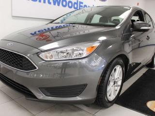 Used 2017 Ford Focus SE FWD with heated seats, heated steering wheel and back up cam for sale in Edmonton, AB