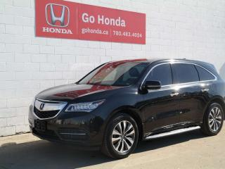 Used 2015 Acura MDX TECH, AWD for sale in Edmonton, AB