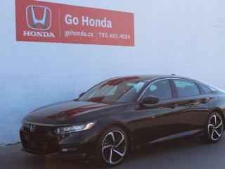 Used 2019 Honda Accord Sedan SPORT 2.0L for sale in Edmonton, AB