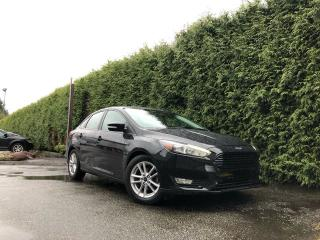 Used 2017 Ford Focus SEL + NAVIGATION + CLOTH HEATED FT SEATS + BACK-UP CAMERA for sale in Surrey, BC