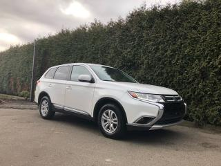 Used 2017 Mitsubishi Outlander ES AWD + HEATED FT SEATS + BACK-UP CAMERA + NO EXTRA DEALER FEES for sale in Surrey, BC
