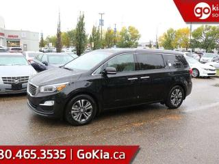 New 2019 Kia Sedona SX+; 8 PASS, LEATHER, SUNROOF, BACKUP CAMERA/SENSORS, POWER TAILGATE/SLIDING DOORS, SMART KEY, HEATED SEATS/WHEEL, BLUETOOTH, ANDROID AUTO/APPLE CAR PLAY, A/CSX+; 8 PASS, LEATHER, SUNROOF, BACKUP CAMERA/SENSORS, POWER TAILGATE/SLIDING DOORS, SMART KEY, HE for sale in Edmonton, AB