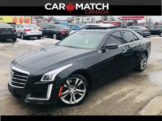 Used 2015 Cadillac CTS V sport  PREMIUM / NAV / ROOF for sale in Cambridge, ON