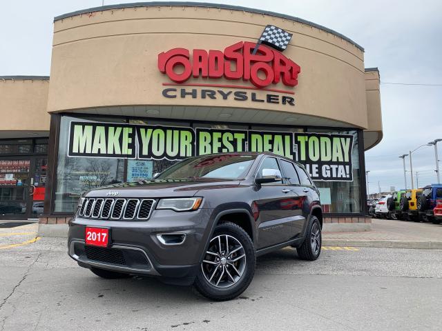 2017 Jeep Grand Cherokee Limited+NAV READY+PANORAMIC SUNROOF+