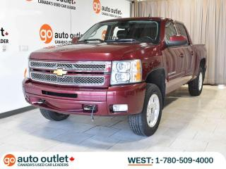 Used 2013 Chevrolet Silverado 1500 LT 4x4 Crew Cab; Rear-view Camera, Power Adjustable Pedals, Dual Climate for sale in Edmonton, AB