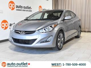 Used 2015 Hyundai Elantra GLS, Manual, Heated seats, Sunroof for sale in Edmonton, AB