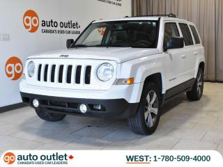 Used 2016 Jeep Patriot High Altitude 4WD, Leather Heated Seats, Sunroof for sale in Edmonton, AB