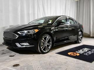 Used 2018 Ford Fusion TITANIUM 4dr AWD   HEATED & COOLED FRONT SEATS   BACKUP CAMERA   SYNC 3 for sale in Red Deer, AB