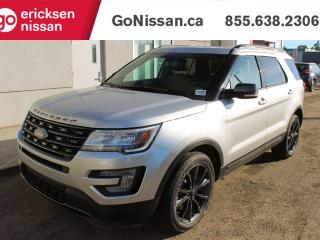 Used 2017 Ford Explorer XLT: 4X4 4WD, SPORT PACKAGE, NAVIGATION, BACKUP CAMERA, PARKING SENSORS, LEATHER, SUNROOF, THIRD ROW SEATING for sale in Edmonton, AB