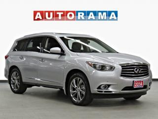 Used 2014 Infiniti QX60 NAVI DVD LEATHER SUNROOF 7 PASS BACK UP CAM AWD for sale in Toronto, ON