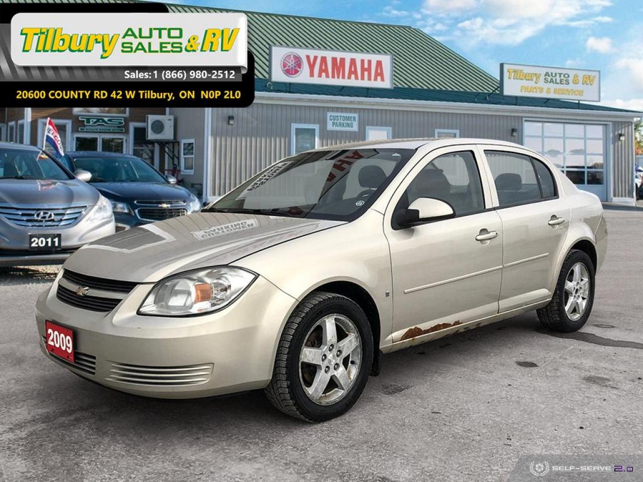 2009 Chevrolet Cobalt LT w/1SA *LOW KM'S*