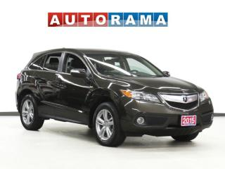 Used 2015 Acura RDX TECH PKG NAVI LEATHER SUNROOF BACK UP CAM AWD for sale in Toronto, ON