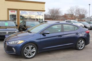 Used 2018 Hyundai Elantra GLS LEATHER SUNROOF for sale in Brampton, ON