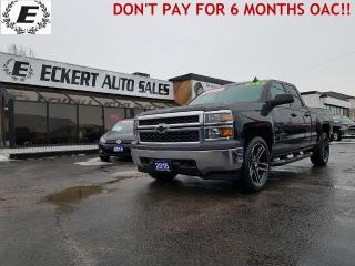 Used 2015 Chevrolet Silverado 1500 LS DOUBLE CAB/4X4/REVERSE CAMERA for sale in Barrie, ON