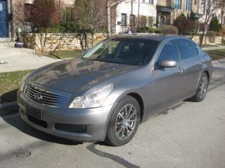Used 2008 Infiniti G35 LOW KMS, NO ACCIDENTS, NEW TIRES, CERTIFIED, A1 for sale in Toronto, ON