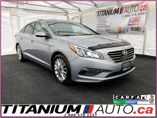 Used 2015 Hyundai Sonata Limited-GPS-Camera-Pano-Lane Assist-Radar Cruise- for sale in London, ON