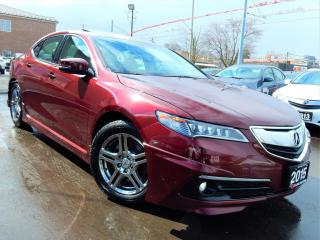 Used 2015 Acura TLX P-AWS TECH PKG | NAVI.CAMERA.BLINDSPOT.LANEASSIST. for sale in Kitchener, ON