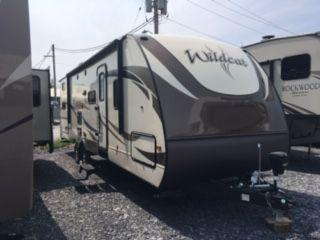 2017 Forest River WILDCAT 281DBK