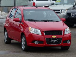 Used 2011 Chevrolet Aveo 2LT, *NO-ACCIDENTS*,SUNROOF,FOG LIGHTS, FULLY AUTO for sale in Mississauga, ON